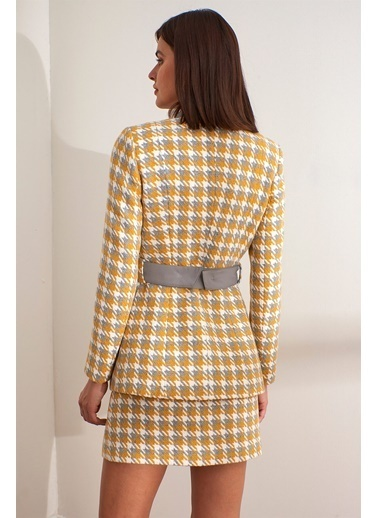 Setre Ceket Sarı